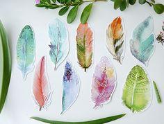 kaartenset feather meerleuks verenkaarten