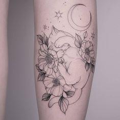 cat tattoo For Jule Danke dir! Made in valley_hamburg