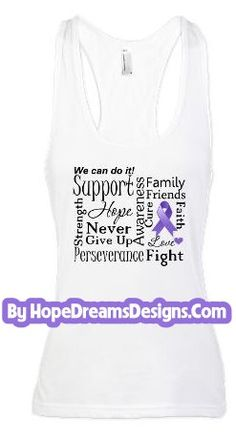 We Can Do It Hodgkin's Lymphoma powerful words on shirts by www.hopedreamsdesigns.com