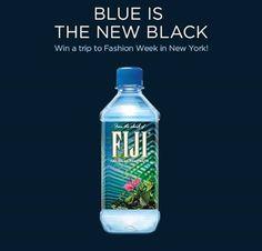 FIJI Water Fashion Week Sweepstakes