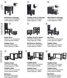 ThinkGeek :: DIY Building Blocks Furniture... OMG!!! I want this for my girls!!!