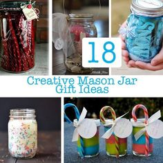 Check out these mason jar gifts that you can make yourself. DIY mason jar Christmas gifts...or any gifting occasion really. #masonjargifts #christmas2017 #christmasgifts #diygiftideas
