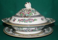 """MINTON Tureen with tray """"Indian Tree"""""""