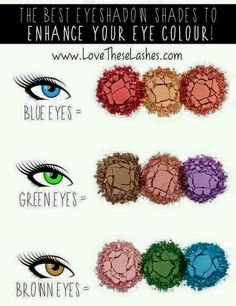 Younique even has a guide to help pick out the right color for your eyes!! www.youniqueproducts.com/SophieReading