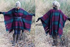Look! Is it a cape? Is it a shawl? Is it a poncho? NO! It's a BLANKET COAT... and apparently, all the major designers have them in their 2014 fall collections. You can be right on trend and easily ...