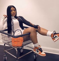 really cute outfits Cute Swag Outfits, Dope Outfits, Trendy Outfits, Fall Outfits, Summer Outfits, Fashion Casual, Black Girl Fashion, Fashion Outfits, Womens Fashion