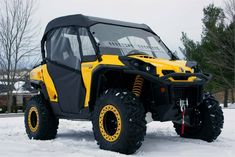 Can-Am Commander Modular Cab Enclosure + Aero-vent Polycarbonate WindshieldUpgrade to MR10 Scratch Proof Polycarbonate for only $125.Free Ground Shipping to Lower 48 StatesFits: All Model Years Can-Am Commander 800 1000 Part #: CA-1000-FC04Custom UTV Accessory Handmade in USA by Over Armour Off Road1 Year Manufacturer's WarrantyThe Can-Am Commander Full Cab Enclosure with Polycarbonate Aero-vent Windshield is 5 separate pieces that join together to protect the occupants from the elements.Cab enc Can Am Commander Accessories, Honda Xr400, Can Am Atv, Utv Accessories, Atv Attachments, American Girl Doll Sets, Polaris Ranger, Jeep Cj, Ventilation System