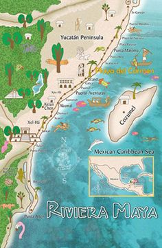 Visit the beautiful gorgeous Riviera Maya Mexico