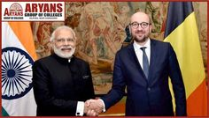 Prime Minister Narendra Modi and Belgian Prime Minister Charles Michel today launched Asia's biggest telescope, the Aryabhatta Research Institute of Observational Sciences (ARIES), built with Belgian assistance which will be used to study Stars and their magnetic fields more closely.  #PrimeMinister #NarendraModi #BelgianPrimeMinister #CharlesMichel #AdvanceDevelopmentinTechnology #Stars #StudyofGalaxy