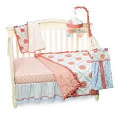 CoCaLo™ Dahlia 4-Piece Crib Bedding and Accessories - Bed Bath & Beyond