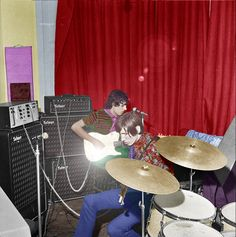 Syd Barrett and Roger Waters - Pink Floyd (1967)