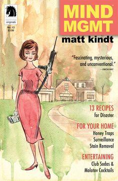 MIND MGMT #13, Matt Kindt