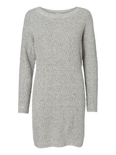 a3cee940142c Knitted jumper dress from VERO MODA. Such a cosy winter style. Vinter Stil