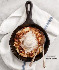 Apple Cardamom Oat Crumble Recipe - Love and Lemons