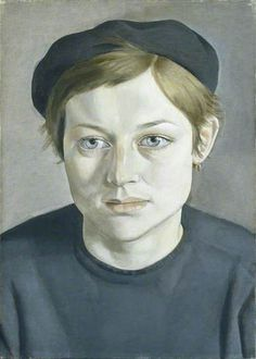 Modern and Contemporary Painting Walker Art Gallery Liverpool 'Girl with Beret' Lucian Freud, Manchester Art Gallery, UK © The Lucian Freud Archive Bridgeman Images Sigmund Freud, Lucian Freud Portraits, Lucian Freud Paintings, British Paints, Antoine Bourdelle, George Grosz, Manchester Art, Manchester England, Robert Rauschenberg