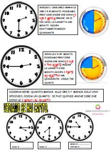 Schede ed attività didattiche del Maestro Fabio per la scuola primaria. Giochiecolori.it: SCHEDE DIDATTICHE DI STORIA: L'OROLOGIO (IMPARIAMO A LEGGERE L'ORA, LE PARTI DELLA GIORNATA, 12 E 24 ORE, CRUCIVERBA, CRUCIPUZZLE, VERIFICHE) CLASSE SECONDA SCUOLA PRIMARIA 24 Hour Clock, Oras, Learn To Read, Primary School, Teacher, Let It Be, Education, History, Learning