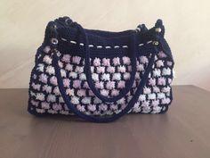 Вязание спицами. Сумки Bucket Bag, Shoulder Bag, Handmade, Bags, Fashion, Handbags, Hand Made, Moda, La Mode