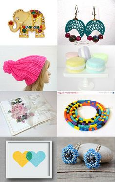Rainbow Finds by Sue Petri on Etsy--Pinned with TreasuryPin.com