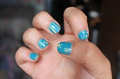 Decorated Blue - right hand;