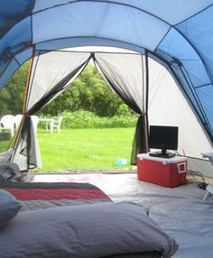 Searching for the perfect large family tent? One thatu0027s easy to set up quickly & Tent camping kitchen setup | Tent Camping | Pinterest | Camping ...