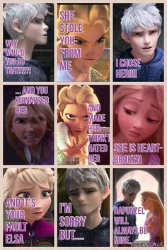 Alright, listen up Jackunzel shippers! Stop making these hateful comics and making Elsa evil! I admit, we used to do that to Rapunzel, but we stopped a LOOONG time ago, so stop doing to Elsa! I've seen way too much of this to accept it! PEACEBETWEENFANDOMS!!