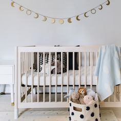 🌕 goodnight, moon 🌙 • #babyletto Gelato crib • 📷: nursery designed by @aeondesign.ca Mamas And Papas, Convertible Crib, Nursery Design, Gelato, Interior Inspiration, Cribs, Toddler Bed, Moon, Furniture