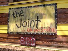 Funky, fun BBQ joint!