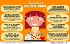Como preparar un almuerzo sano y saludale para tus hijos/as. 31 Ideas + Menu Semanal