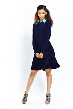 The various types of ease that are available in Zain are quite attractive salaries. Contrast Collar Shirt, Collared Shirt Dress, Everyday Dresses, Dresses Online, Evening Dresses, Curvy, High Neck Dress, Clothes For Women, Chic