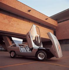 1971 Italdesign Alfasud Caimano. Via themarquis.