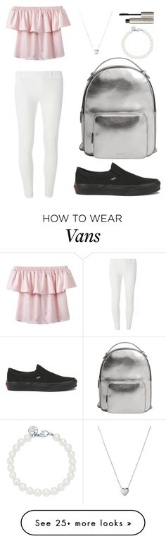 """""""Untitled #88"""" by chelsea-beale on Polyvore featuring Dorothy Perkins, Vans, MANGO, Links of London, Tiffany & Co. and Ilia"""