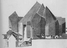 Gottfried Böhm - Wallfahrtskirche Maria Königin des Friedens - 1963-73
