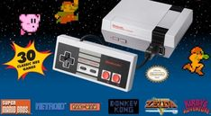 The internet exploded this week when Nintendo announced the NES Classic Edition. Not quite a game console, the Classic Edition comes preloaded with 30 touchstone Nintendo Entertainment System games… Classic Nes Games, Nes Classic Mini, Classic 2016, Snes Classic, Nintendo Nes Mini, Message Secret, Donkey Kong Junior, Bubble Bobble, 8 Bits