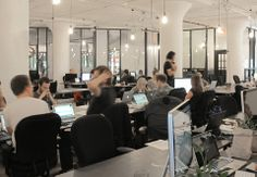 Goodbye, Cubicle: An Office Designed for Collaboration