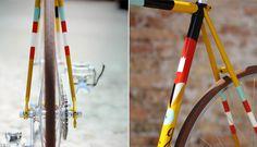 Illustrated bike