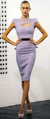Victoria #Beckham- fierce and #belted