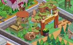 Springfield Zoo | Tapped Out | The Simpsons