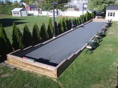 Bocce Ball Court Can Nick Make One Of These Next Patty