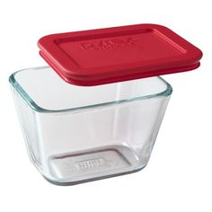 This Pyrex® glass dish has a matching lid, so you can store and reheat using the same dish. It's simpler for you, easier on the environment. And the secure-fitting lid keeps food fresher longer.