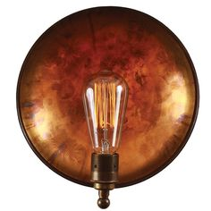 Featuring a concave dome that provides a beautiful backdrop and equipped with an Edison screw lamp holder, the Cullen is a wall light that invokes nostalgia and mixes it with a touch of modernity Concave, Appliques Murales Vintage, Industrial Wall Lights, Industrial Style, Estilo Art Deco, Support Mural, Style Retro, Messing, Lighting Design