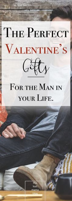 Gifts for men, boyfriends and husbands. Valentine's day gifts for him. Show the man in your life a little lovin'. #valentinesday #giftguide #giftsforhim