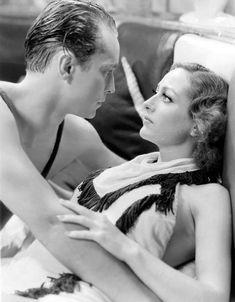 """Joan Crawford, Franchot Tone in """"Dancing Lady"""" (1933). DIRECTOR: Robert Z. Leonard."""