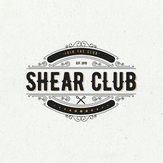 Design #54 by El maestro | Shear Club: Put a modern spin on a vintage barbershop logo for a scissor membership service.
