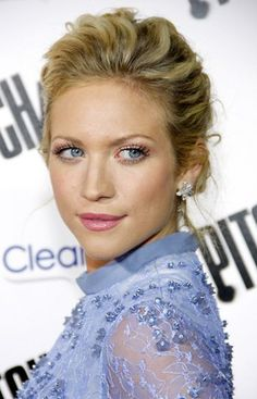 Brittany Snow.. Love the hair