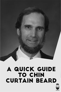 All you need is A Quick & very Simple Guide to get the Perfect Chin Curtain Beard look.