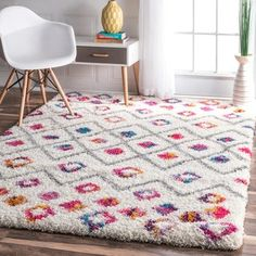 Shop for nuLOOM Bohemian Inspired Moroccan Trellis Vibrant Diamond Shag Rug (8' x 10'). Get free shipping at Overstock.com - Your Online Home Decor Outlet Store! Get 5% in rewards with Club O!