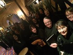 RVA Symphony Chorus Soprano & Alto monks, conducted by Erin Freeman, process out for Richmond Ballet's Carmina Burana with Richmond Symphony.  Last performance 11/2/14.