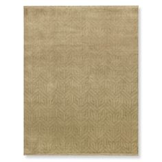 Geo Moon Hand Knotted Rug, 6' X 9', Neutral