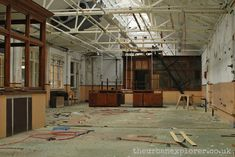 The 15 creepiest abandoned places in Britain you'd NEVER spend the night in – The Sun Abandoned Places In The Uk, Abandoned Houses, St Gerard, Abandoned Hospital, School Decorations, Surrey, Britain, Creepy, Night