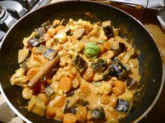 wortel-auberginecurry pan